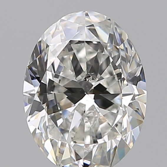 1.70 Carat Oval Loose Diamond, G, SI1, Ideal, GIA Certified