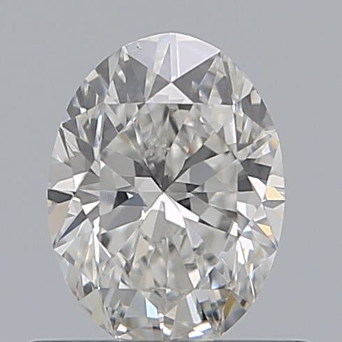 0.50 Carat Oval Loose Diamond, F, VS2, Ideal, GIA Certified | Thumbnail