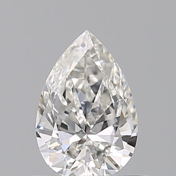 0.39 Carat Pear Loose Diamond, G, VS2, Ideal, GIA Certified
