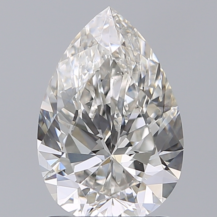 1.50 Carat Pear Loose Diamond, I, VS2, Super Ideal, GIA Certified | Thumbnail
