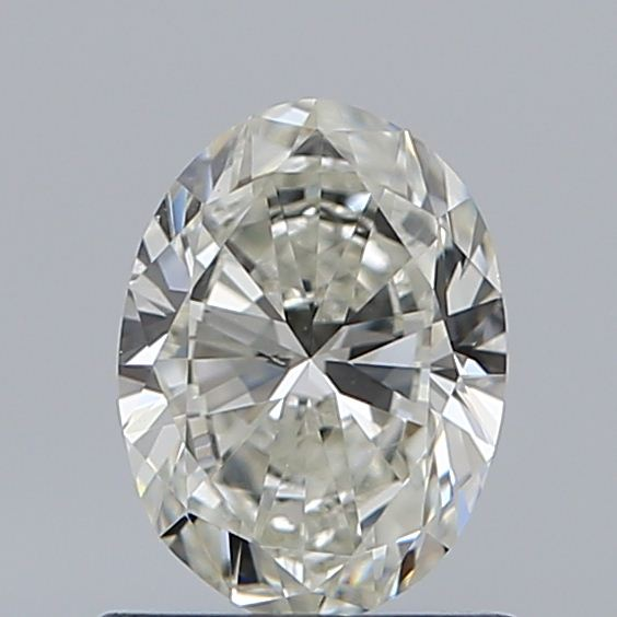 0.71 Carat Oval Loose Diamond, J, VS1, Excellent, GIA Certified