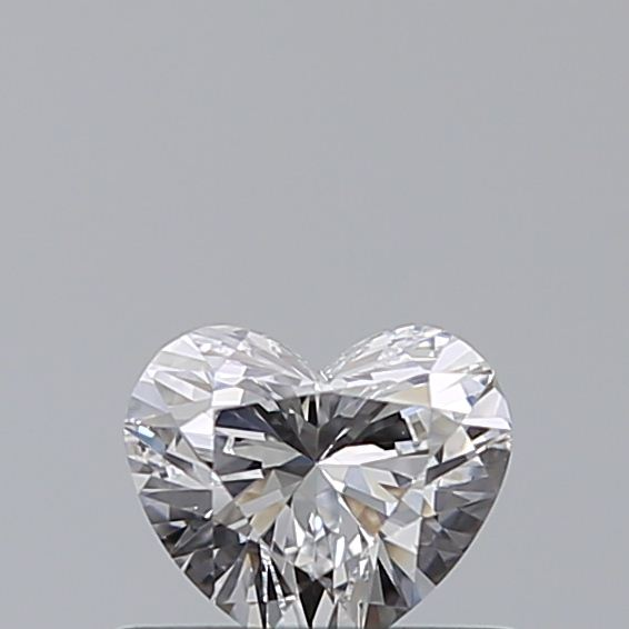 0.41 Carat Heart Loose Diamond, D, VS2, Ideal, GIA Certified