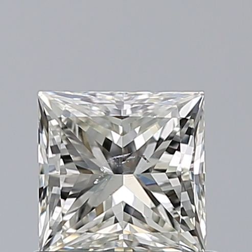 0.72 Carat Princess Loose Diamond, K, SI2, Ideal, GIA Certified