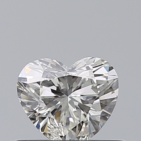 0.40 Carat Heart Loose Diamond, I, SI1, Super Ideal, GIA Certified