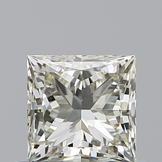 0.51 Carat Princess Loose Diamond, N, VVS2, Super Ideal, GIA Certified