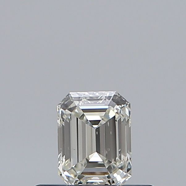 0.33 Carat Emerald Loose Diamond, J, VS2, Super Ideal, GIA Certified