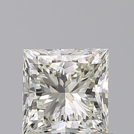 0.70 Carat Princess Loose Diamond, L, VS1, Super Ideal, GIA Certified