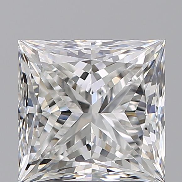 1.90 Carat Princess Loose Diamond, F, VS2, Super Ideal, GIA Certified