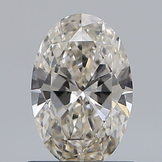 0.72 Carat Oval Loose Diamond, J, VVS2, Super Ideal, GIA Certified
