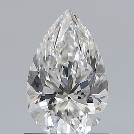 0.73 Carat Pear Loose Diamond, F, SI1, Super Ideal, GIA Certified
