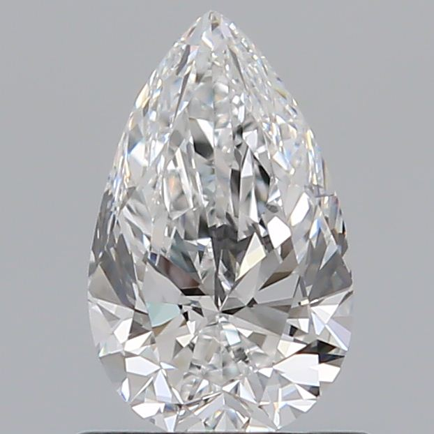 0.70 Carat Pear Loose Diamond, E, VS1, Super Ideal, GIA Certified