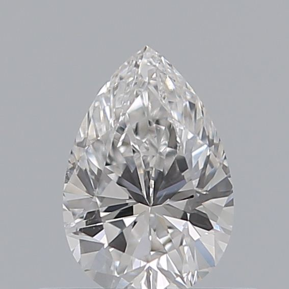 0.40 Carat Pear Loose Diamond, D, SI1, Excellent, GIA Certified