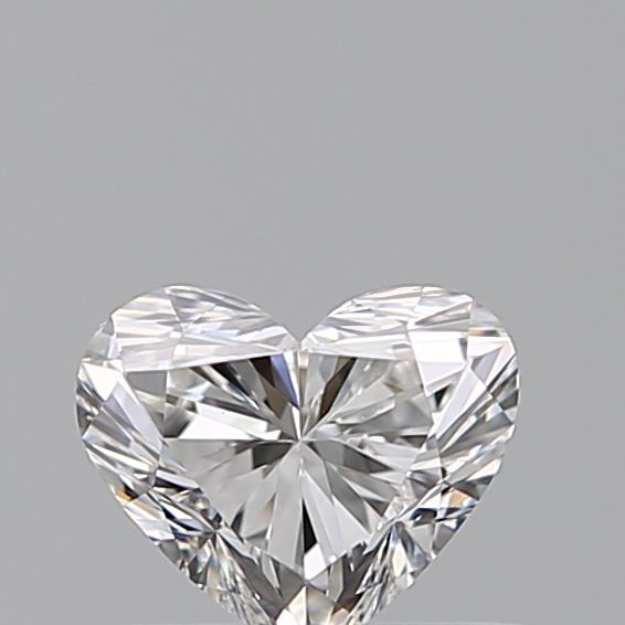 0.41 Carat Heart Loose Diamond, E, VS1, Ideal, GIA Certified | Thumbnail