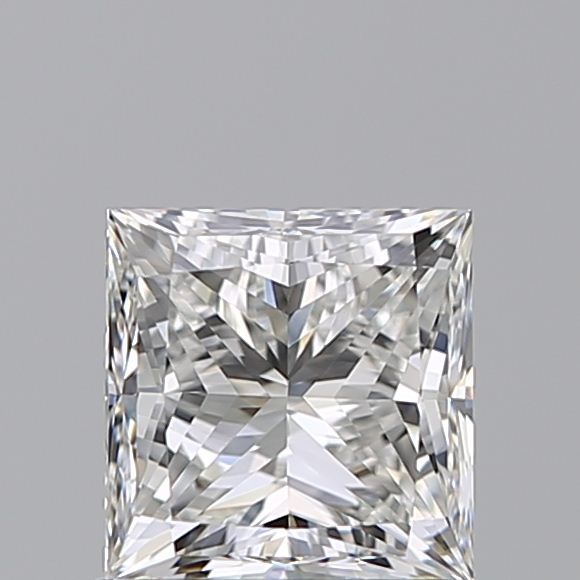 1.00 Carat Princess Loose Diamond, H, VVS1, Super Ideal, GIA Certified