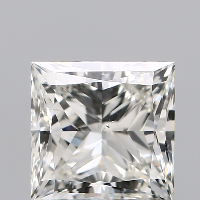 1.00 Carat Princess Loose Diamond, J, SI1, Super Ideal, GIA Certified