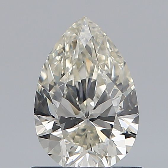0.74 Carat Pear Loose Diamond, K, SI1, Ideal, GIA Certified