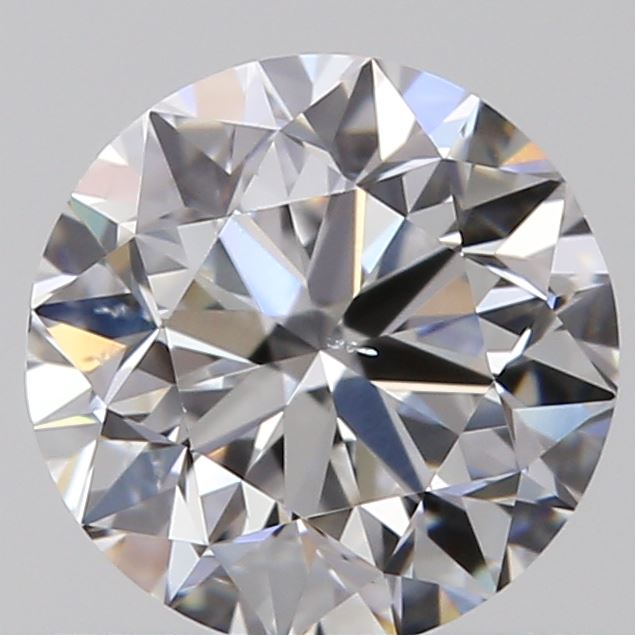 0.72 Carat Round Loose Diamond, D, SI1, Excellent, GIA Certified