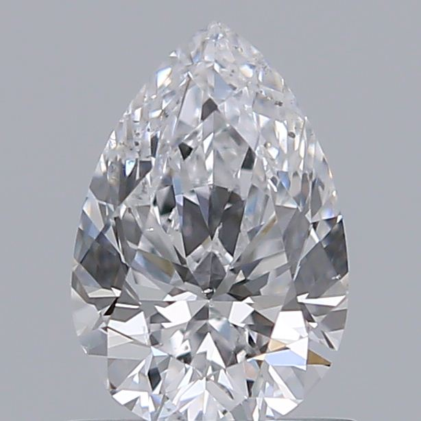 0.70 Carat Pear Loose Diamond, D, SI1, Super Ideal, GIA Certified | Thumbnail