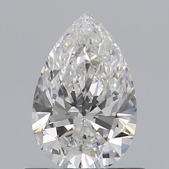 0.50 Carat Pear Loose Diamond, F, SI2, Super Ideal, GIA Certified | Thumbnail