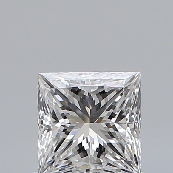 0.73 Carat Princess Loose Diamond, F, VS1, Ideal, GIA Certified