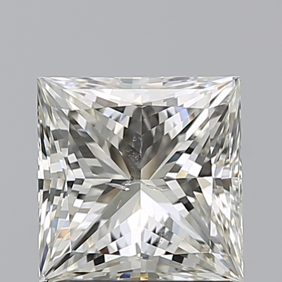 1.29 Carat Princess Loose Diamond, K, SI2, Ideal, GIA Certified