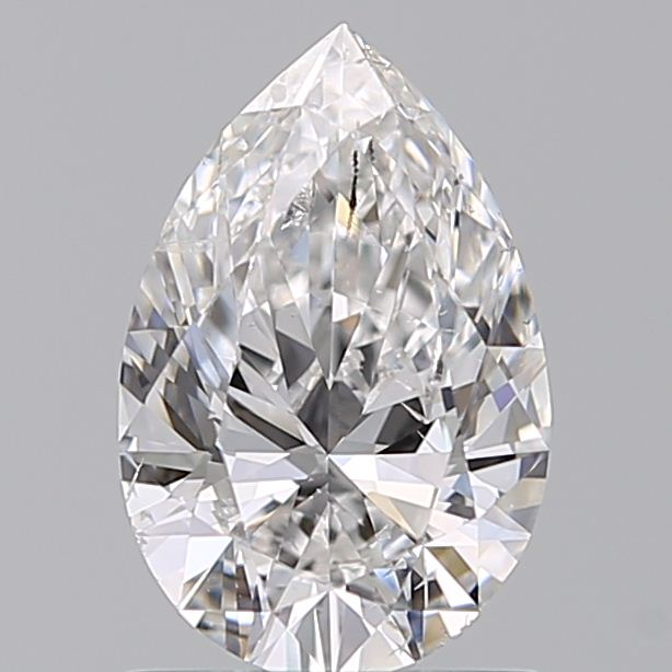 0.90 Carat Pear Loose Diamond, D, SI2, Ideal, GIA Certified
