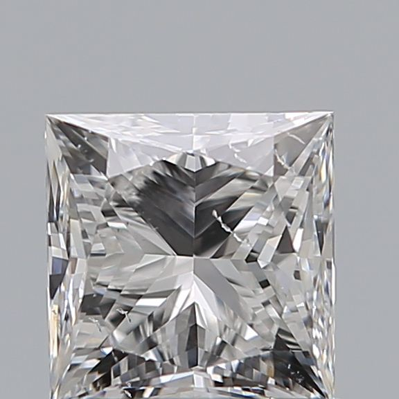 0.90 Carat Princess Loose Diamond, F, VS2, Ideal, GIA Certified
