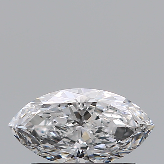 0.41 Carat Marquise Loose Diamond, D, SI2, Ideal, GIA Certified