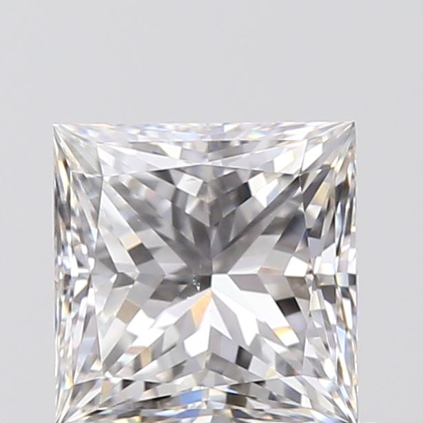 0.70 Carat Princess Loose Diamond, E, VS2, Super Ideal, GIA Certified