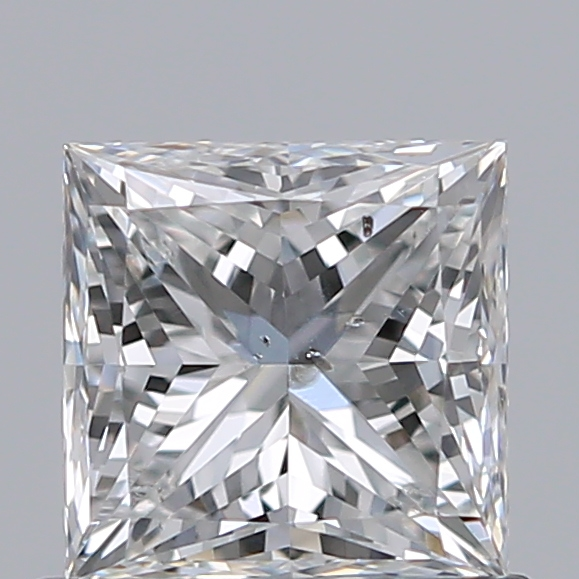 0.70 Carat Princess Loose Diamond, G, SI2, Super Ideal, GIA Certified