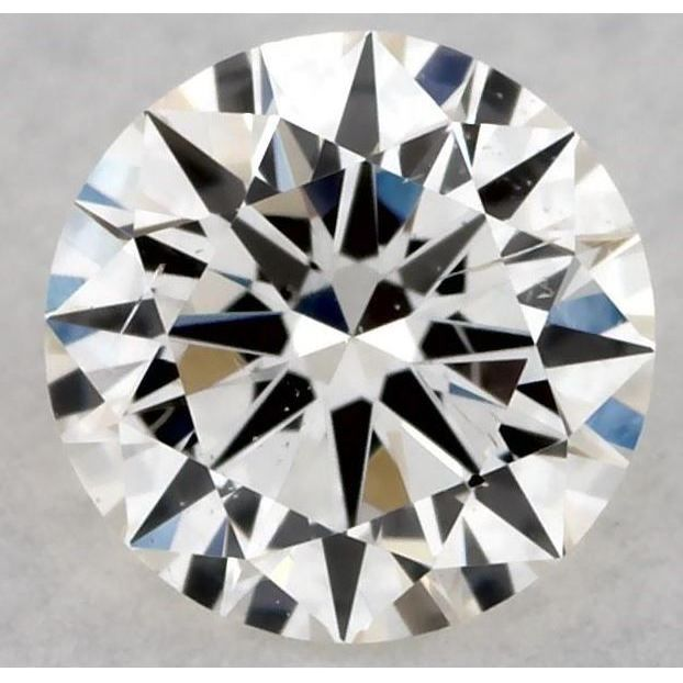 0.30 Carat Round Loose Diamond, J, SI2, Excellent, GIA Certified