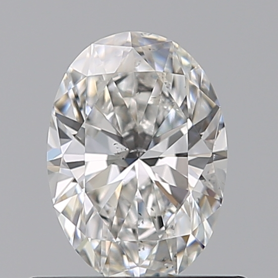 0.51 Carat Oval Loose Diamond, F, VS2, Super Ideal, GIA Certified