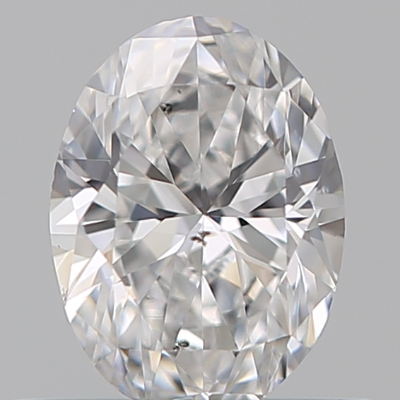 0.40 Carat Oval Loose Diamond, E, SI2, Excellent, GIA Certified
