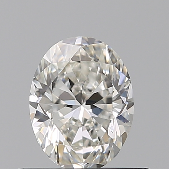 0.46 Carat Oval Loose Diamond, G, VVS2, Excellent, GIA Certified