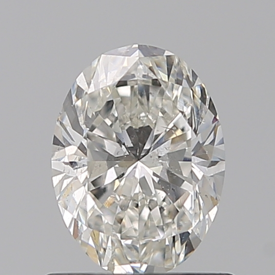 0.72 Carat Oval Loose Diamond, G, SI2, Super Ideal, GIA Certified