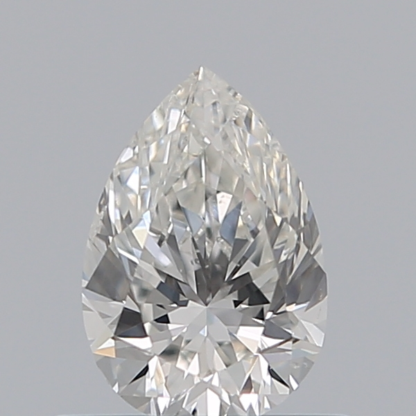 0.50 Carat Pear Loose Diamond, G, SI2, Excellent, GIA Certified