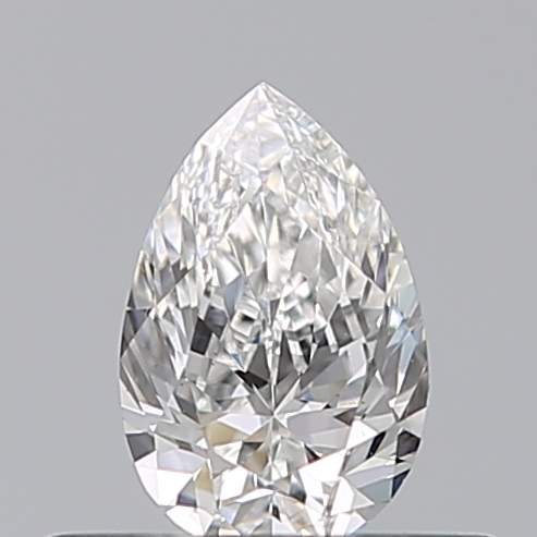 0.33 Carat Pear Loose Diamond, F, VS1, Excellent, GIA Certified