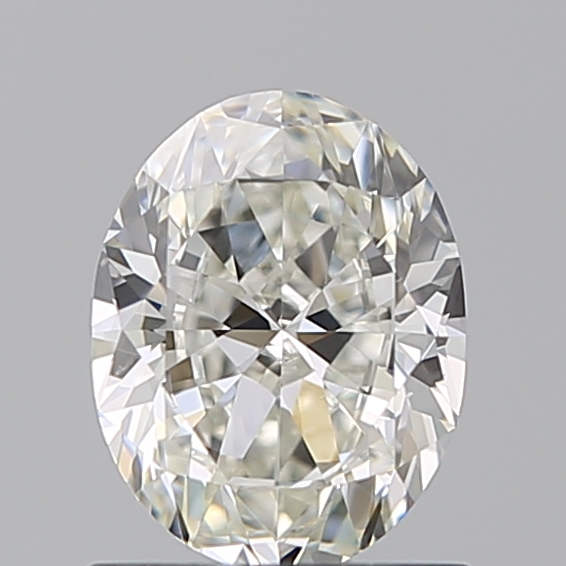 0.90 Carat Oval Loose Diamond, I, SI1, Ideal, GIA Certified