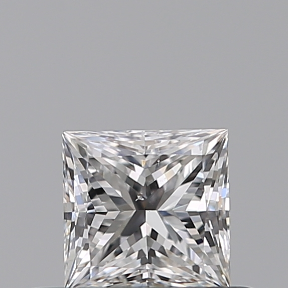 0.33 Carat Princess Loose Diamond, E, SI1, Super Ideal, GIA Certified | Thumbnail