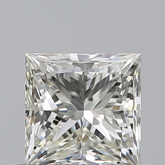 0.50 Carat Princess Loose Diamond, K, VS1, Super Ideal, GIA Certified