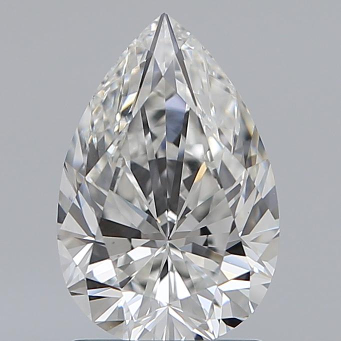 1.51 Carat Pear Loose Diamond, F, VS1, Super Ideal, GIA Certified | Thumbnail