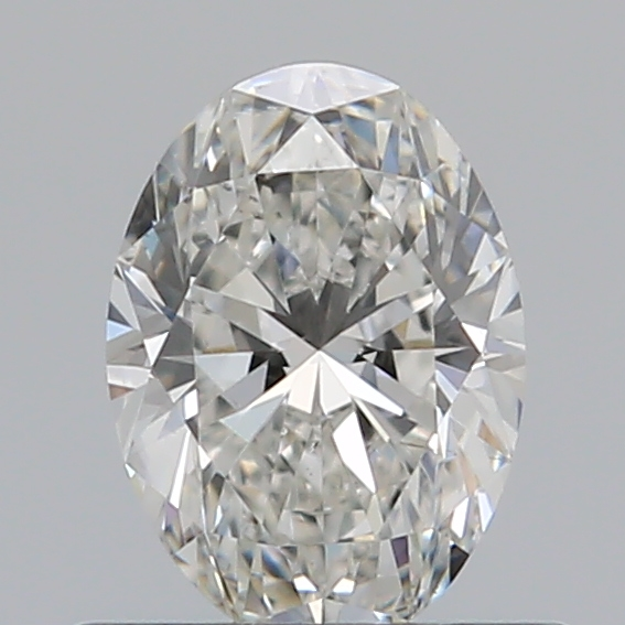 0.51 Carat Oval Loose Diamond, G, SI1, Super Ideal, GIA Certified