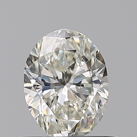 0.50 Carat Oval Loose Diamond, I, SI1, Excellent, GIA Certified
