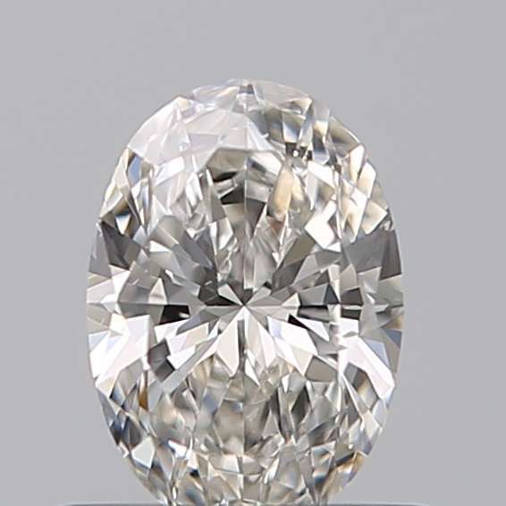 0.50 Carat Oval Loose Diamond, I, VS2, Ideal, GIA Certified | Thumbnail
