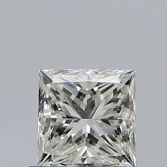0.70 Carat Princess Loose Diamond, J, VS2, Ideal, GIA Certified