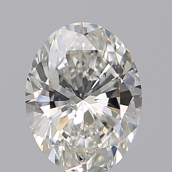 0.50 Carat Oval Loose Diamond, G, SI2, Excellent, GIA Certified