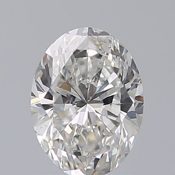 0.80 Carat Oval Loose Diamond, F, SI2, Super Ideal, GIA Certified