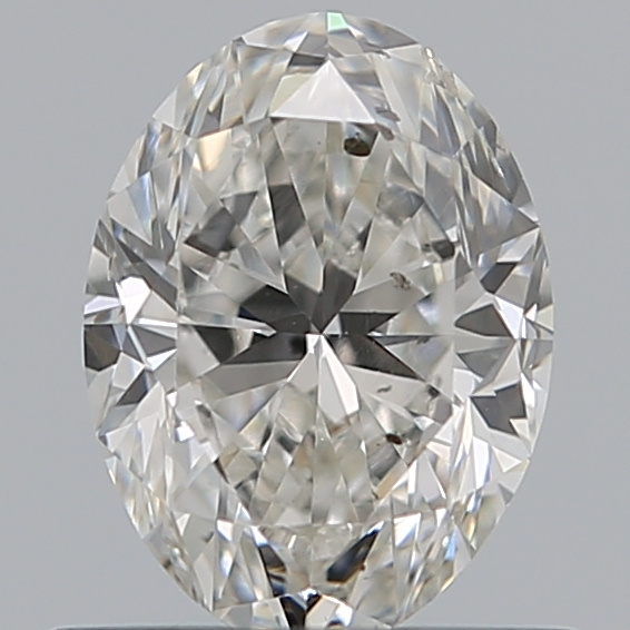0.71 Carat Oval Loose Diamond, G, SI2, Excellent, GIA Certified