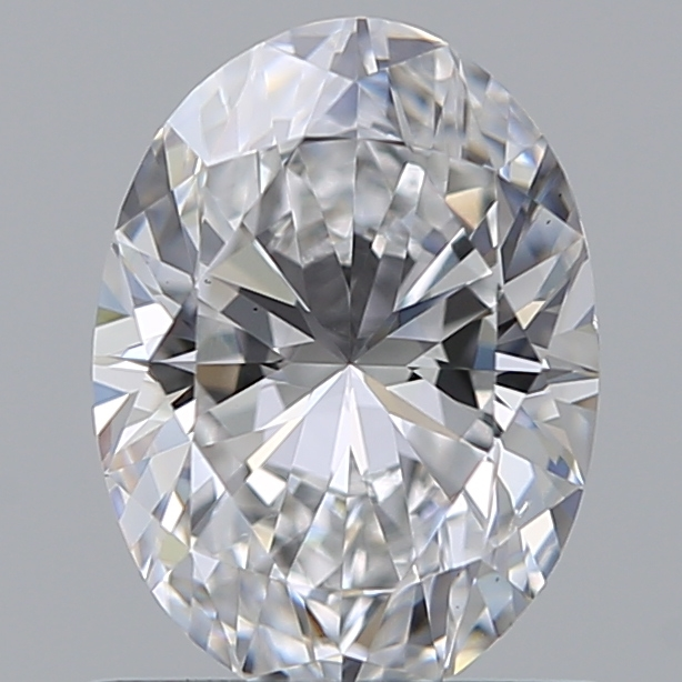0.75 Carat Oval Loose Diamond, D, VS2, Super Ideal, GIA Certified | Thumbnail