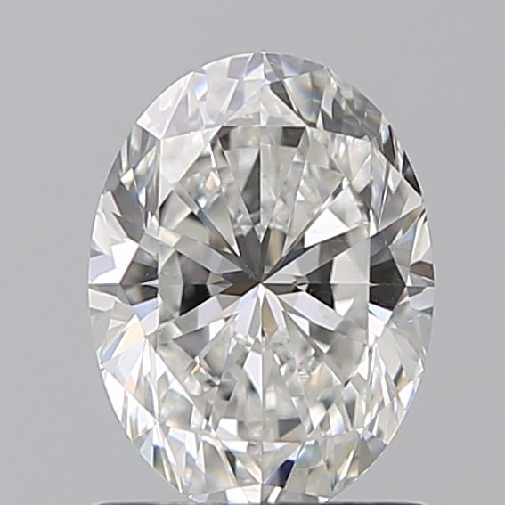 1.00 Carat Oval Loose Diamond, F, VS2, Super Ideal, GIA Certified | Thumbnail